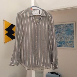 Xirena Striped Blouse (S)